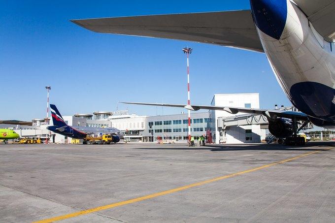 Аэропорт Пулково открыл новое здание для обслуживания внутренних рейсов . Изображение № 1.