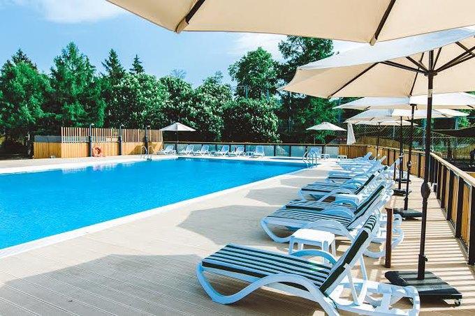 В «Лужниках» откроется зона отдыха сдвумя бассейнами. Изображение № 1.