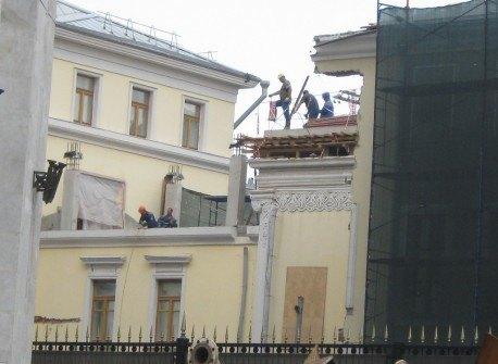 «Дом Болконского» лишился шпиля. Изображение № 1.