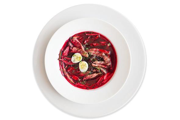 Сезонное меню: Холодные супы в ресторанах Петербурга. Изображение № 4.
