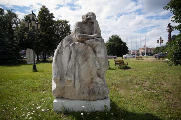 «Крылатый ангел вдохновения», Игорь Корнеев, 1999  . Изображение № 13.