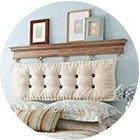 Как изголовье кровати может изменить внешний вид спальни. Изображение № 9.