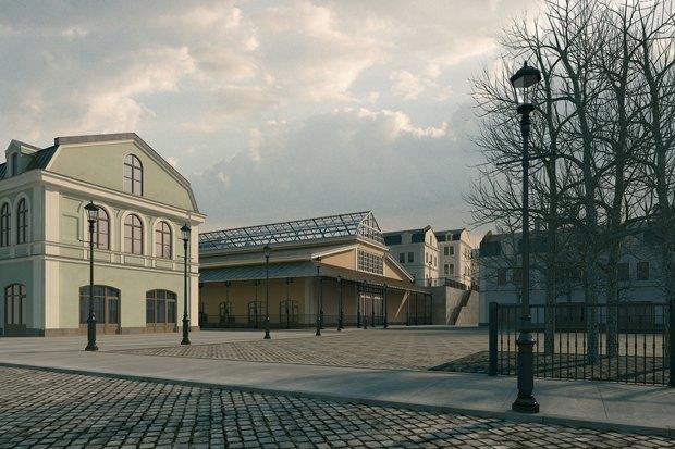 «Главстрой» продолжит реновацию Апраксина двора. Изображение № 1.