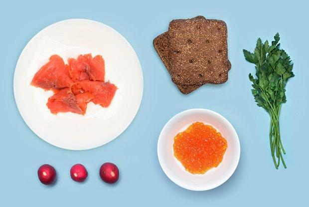 Смёрребрёд иещё пять блюд сикрой для новогоднего стола. Изображение № 8.