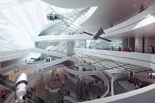 Представлены шесть проектов нового здания Политехнического музея. Изображение № 7.