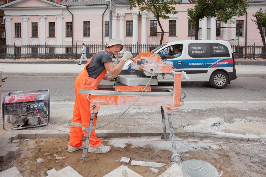 Её раскопали: Пешеходные улицы Москвы за месяц до открытия. Изображение № 4.