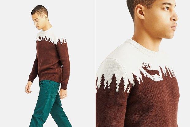 Мужские новогодние свитеры: 9вариантов от 1500 до16тысячрублей. Изображение № 3.