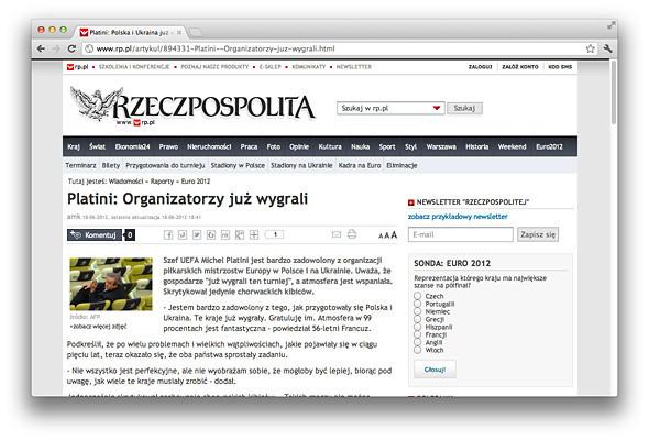 Другим тоном: Иностранные СМИ о Евро-2012 на Украине . Зображення № 2.