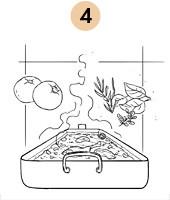 Рецепты шефов: Кассуле с фермерской цесаркой, колбасками из баранины и белым вином. Изображение № 9.