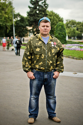 Фоторепортаж: День ВДВ в парке Горького. Изображение № 41.