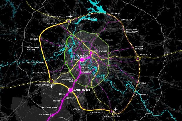 Транспортная система будущей Москвы. Изображение №1.