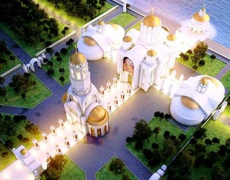 На берегу Днепра построят храм с диорамой . Зображення № 2.
