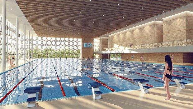 Объявлен победитель конкурса на концепцию реконструкции бассейна «Лужники». Изображение № 5.