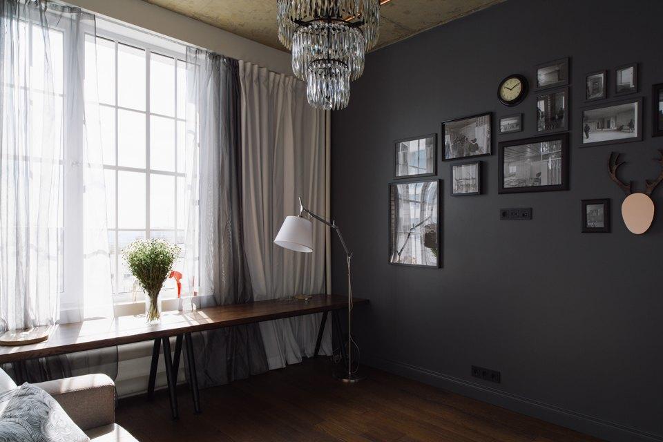 Трёхкомнатная квартира виндустриальном стиле. Изображение № 4.