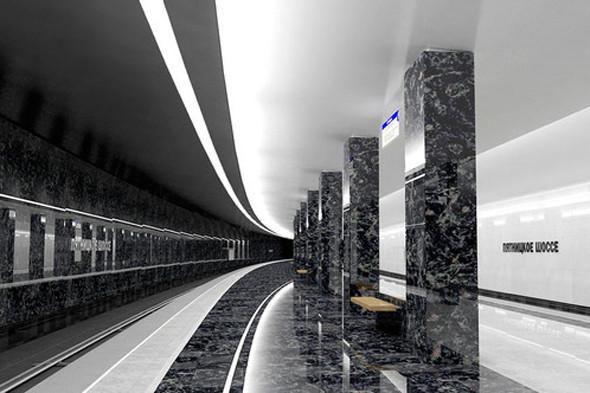 Метрополитен показал дизайн трех новых станций. Изображение № 14.