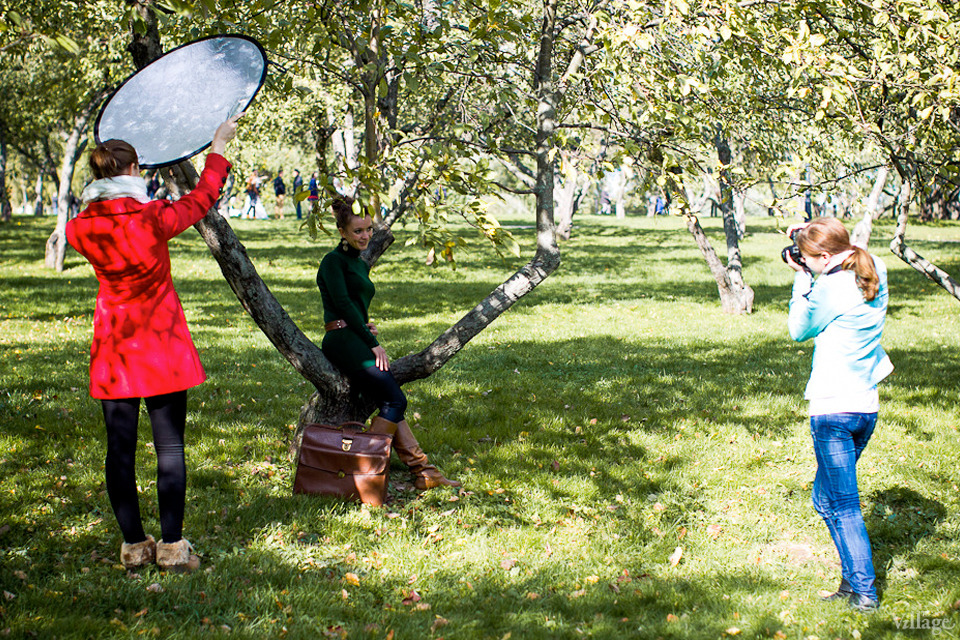 Люди в городе: Любительские фотосессии в парке. Изображение №4.
