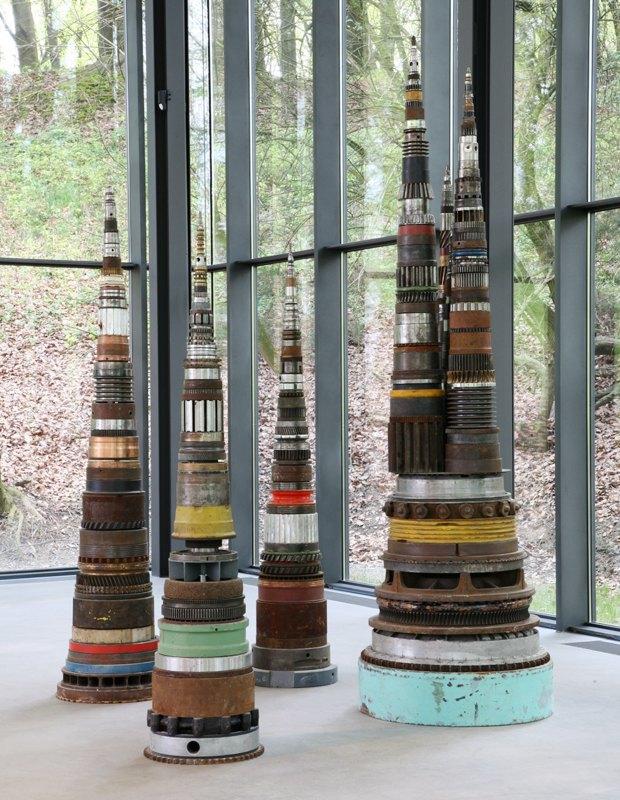 Тони Крэгг вЭрмитаже: Отмусора домуранского стекла. Изображение № 2.
