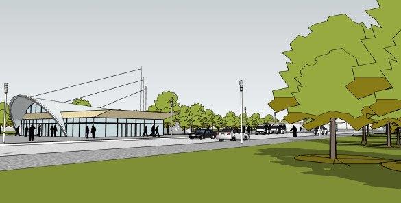 В городе появятся станции метро «Гавань», «Туристская» и «Горный институт». Изображение № 3.