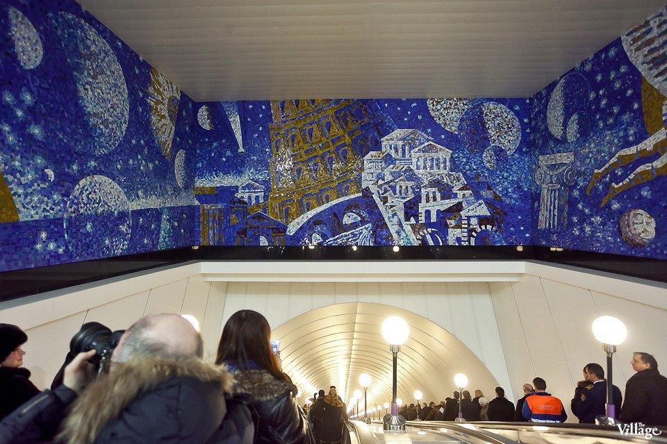 Фоторепортаж: Станции метро «Международная» и«Бухарестская» изнутри. Изображение № 24.