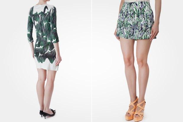 Платье Diane Von Furstenberg за 7 250 рублей со скидкой 50 % и шорты Stella McCartney с такой же скидкой. Изображение № 8.