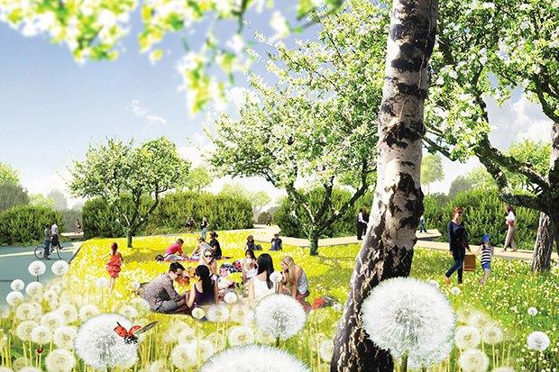 Парк в Зарядье: Проекты победителей и мнения экспертов. Изображение № 33.