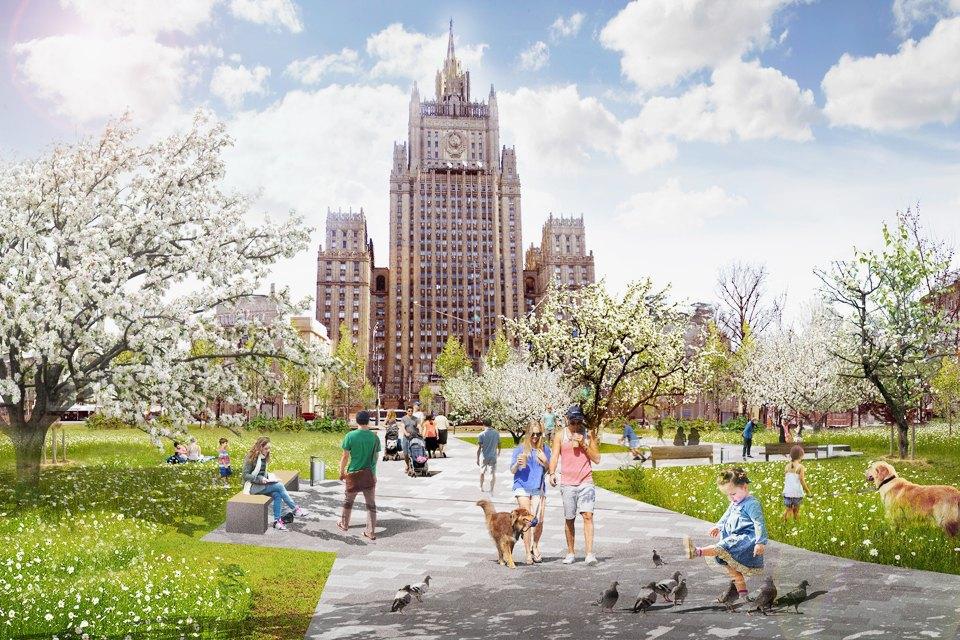 Сады на Смоленской-Сенной площади. Изображение № 4.