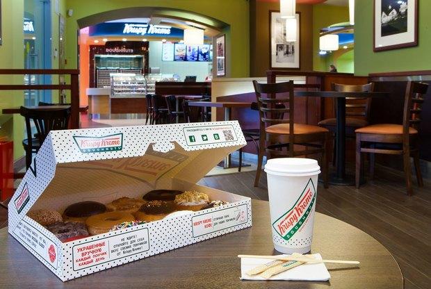 На Мясницкой открывается пончиковая Krispy Kreme. Изображение № 1.
