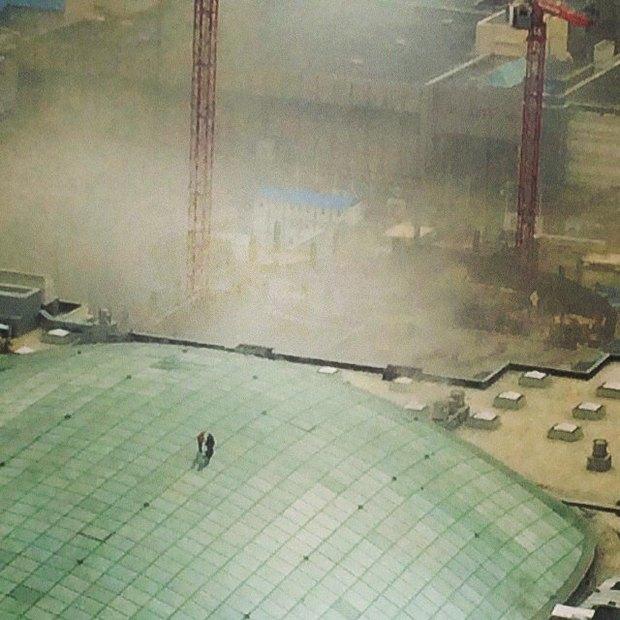 В Москве загорелся торгово-развлекательный центр «Афимолл». Изображение № 2.
