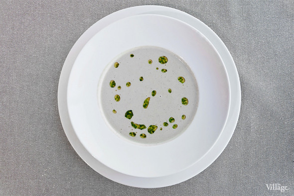 Суп-капучино из дичи с котлеткой из перепелки — 380 рублей. Изображение № 43.