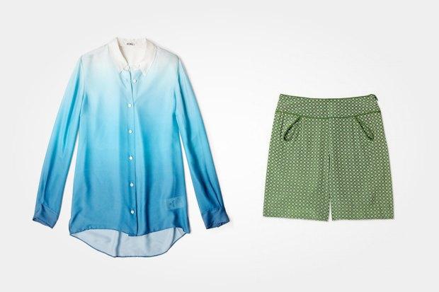 Рубашка Acne за 7020 рублей со скидкой 40 % и шорты Raoul за 5880 рублей с такой же скидкой. Изображение № 7.