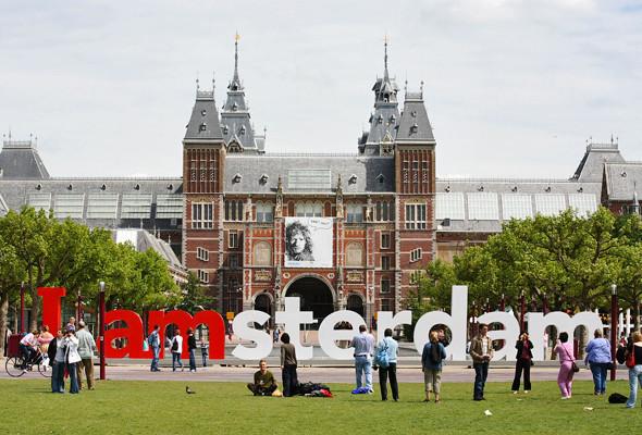 Город в образе: Авторы логотипов Амстердама, Мадрида и Пулы — о брендинге города. Изображение № 29.