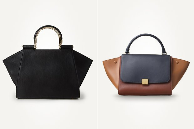 Слева: сумка Forever 21 Справа: сумка Celine. Изображение № 4.