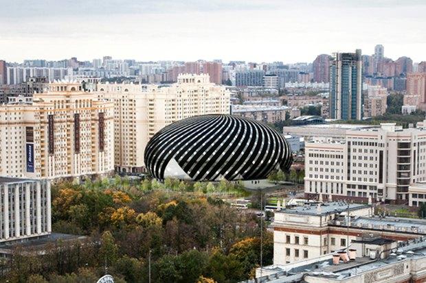 Представлены шесть проектов нового здания Политехнического музея. Изображение № 16.