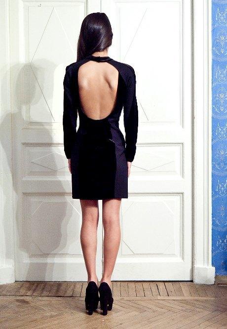 Открытая Спина Платье Доставка