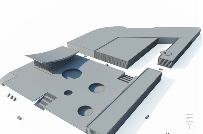 Проект «Экспо» ВДНХ разработают шесть архбюро Москвы (обновлено). Изображение № 2.