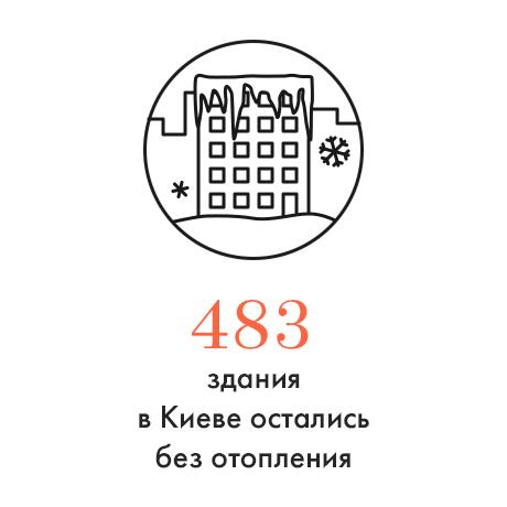 Цифра дня: Сколько зданий остались без отопления. Изображение № 1.
