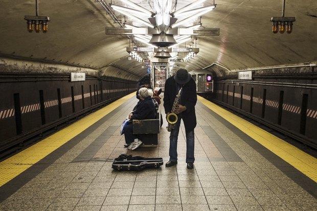 Какая музыка звучит  в метро Пекина, Нью-Йорка, Брюсселя. Изображение № 5.