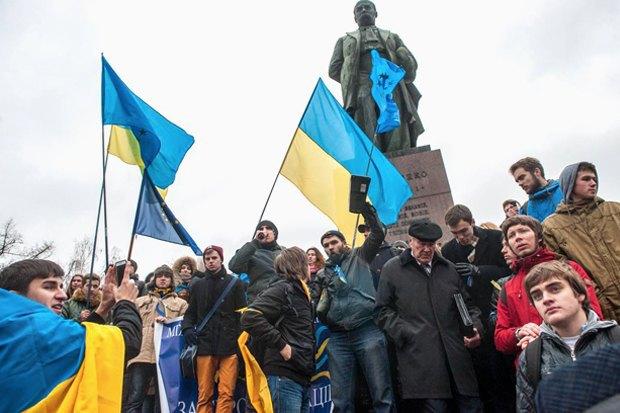 Газ до отказа: Андрей Горшков о том, как Путин объединил Украину. Изображение № 1.