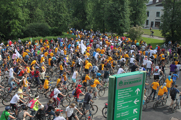 Велопарад Let's bike it!: Чего не хватает велосипедистам в городе. Изображение № 19.