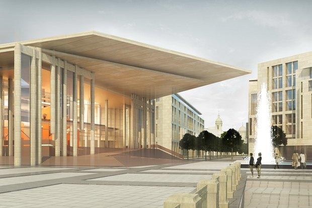 Суд идёт: четыре проекта квартала на месте «Набережной Европы». Изображение № 18.