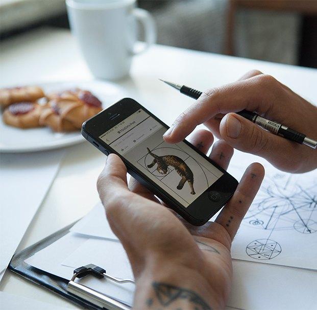 Cмартфон vs. Компьютер: Что нужнее в работе тату-мастера. Изображение № 6.