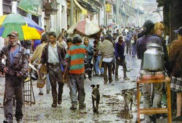 Район Картучо в столице Колумбии. . Изображение № 22.