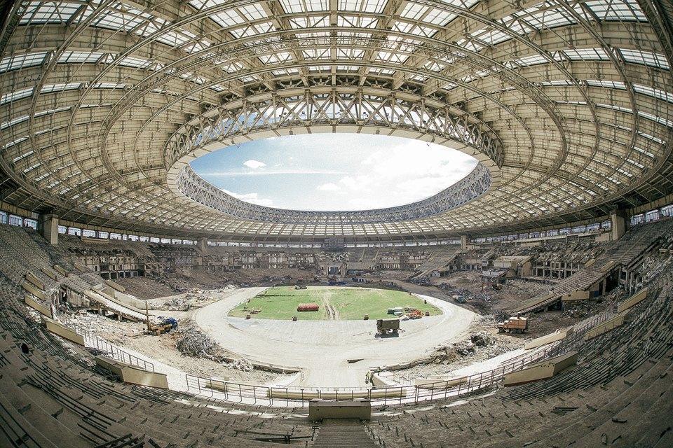 Как сейчас выглядит стадион «Лужники». Изображение № 2.