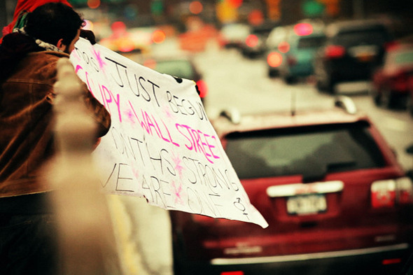 Томас Рафа. Occupy Wall Street. DVD-видео. Нью-Йорк, 2012.. Изображение № 9.