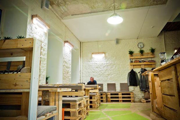 Новое место: Коворкинг икофейня Les. Изображение №1.