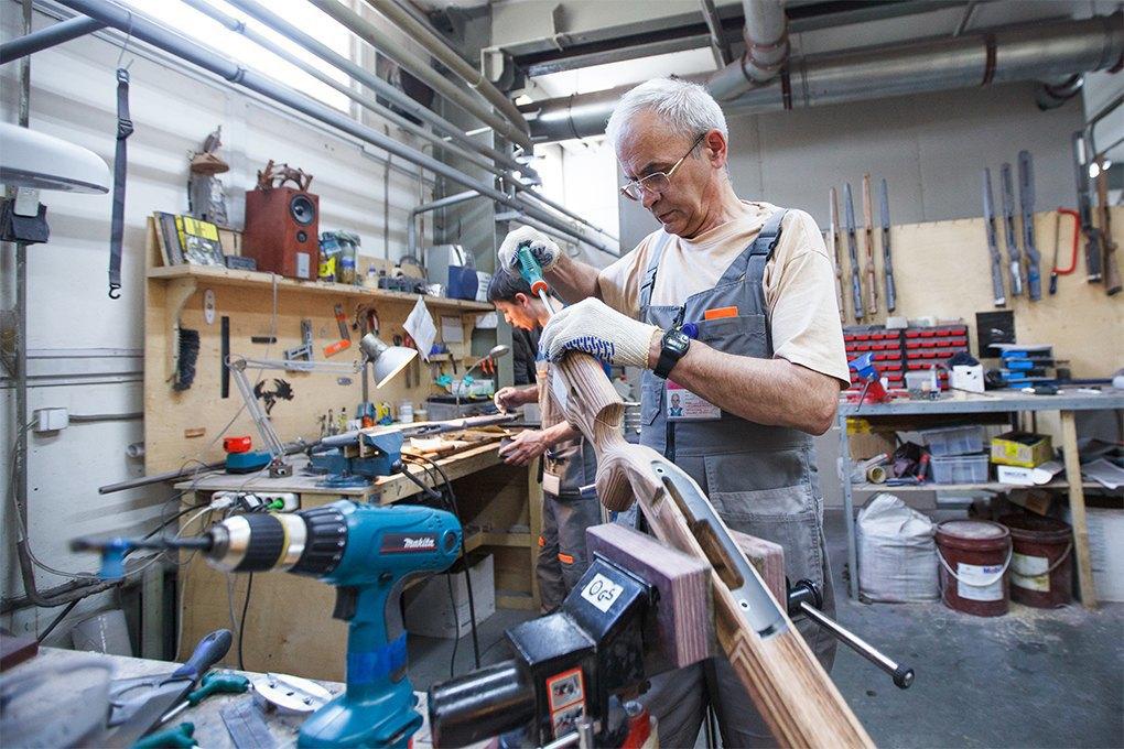Производственный процесс: Как делают винтовки. Изображение № 1.