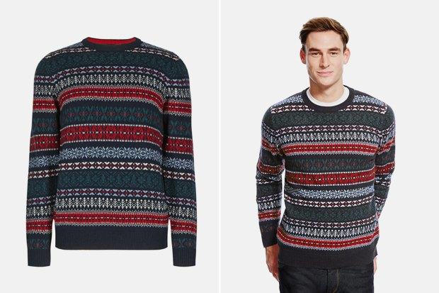 Мужские новогодние свитеры: 9вариантов от 1500 до16тысячрублей. Изображение № 7.