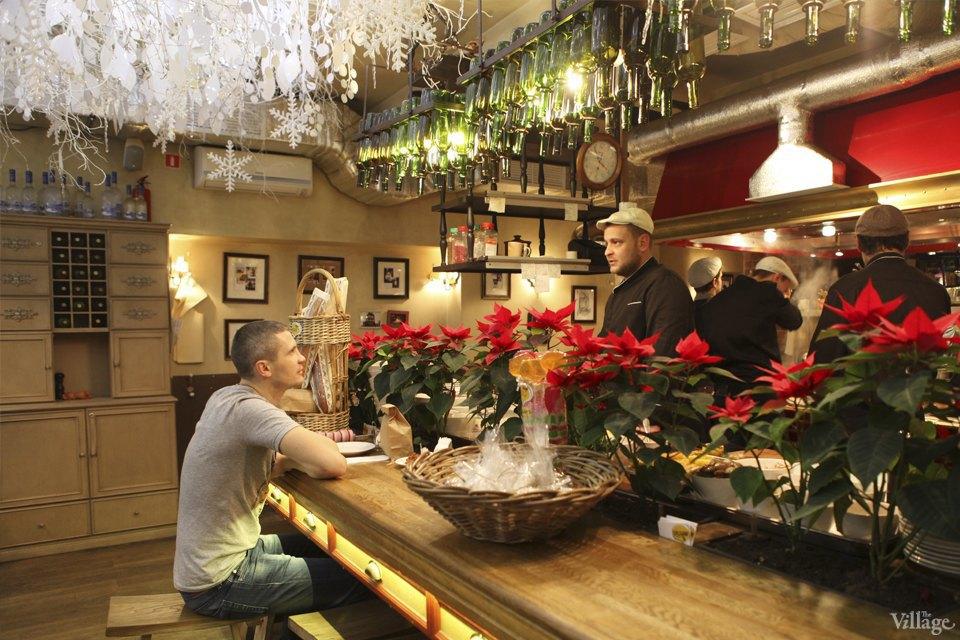 Фоторепортаж: Новогодние интерьеры ресторанов и кафе . Изображение № 7.