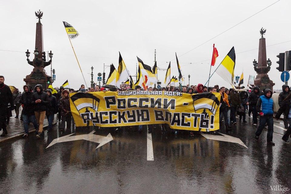 Фоторепортаж: День народного единства вПетербурге. Изображение № 13.