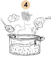Рецепты шефов: Ризотто с голубем конфит и грибами под вином. Изображение № 9.